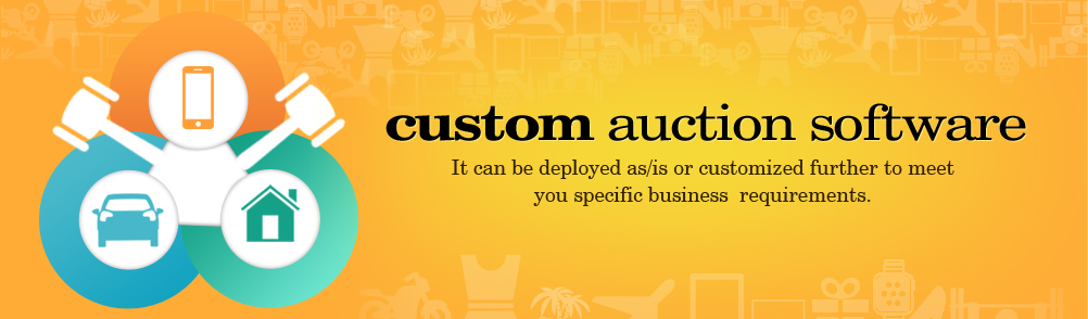 Custom Auctions Software